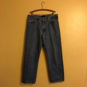 Versace Jeans couture blue denim jeans size 38/32
